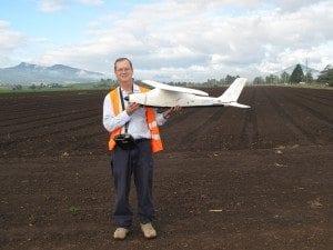 Pilot with UAV ACTFA