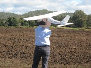 UAV about to launch ACTFA